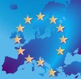 De crisis Griekenland van Europa stock illustratie