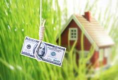 De crisis van de huisvesting. stock afbeeldingen
