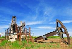 De crisis van de olie royalty-vrije stock fotografie