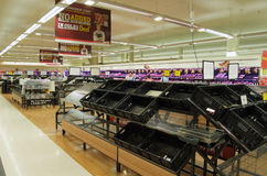 De crisis van het voedsel na de vloed Royalty-vrije Stock Afbeeldingen