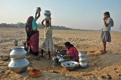 De Crisis van het water Stock Foto's