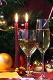 De cristal aliste para el día de fiesta, la Navidad, encontrándose Imagenes de archivo