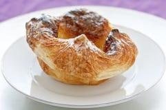 De Croissant van de citroen Royalty-vrije Stock Fotografie
