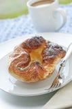 De Croissant van de citroen Royalty-vrije Stock Afbeelding