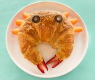 De Croissant van de krab Stock Afbeeldingen