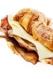 De croissant van het bacon Royalty-vrije Stock Fotografie