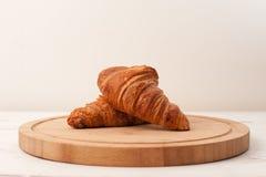 De croissanten van de ochtend Royalty-vrije Stock Afbeelding