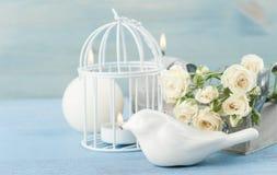 De cru toujours durée Bouquet des roses blanches Photo libre de droits