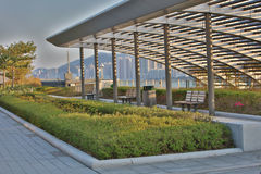 De cruise eindpark van Kai Tak stock fotografie