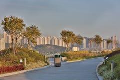 De cruise eindpark van Kai Tak royalty-vrije stock foto