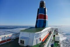 De cruise Scandinavië van het schip Stock Foto's