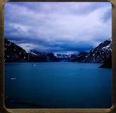 De cruise van Alaska 35 mm glijdt uitstekende de reis en de familieuitjes van 1970 ` s Royalty-vrije Stock Fotografie