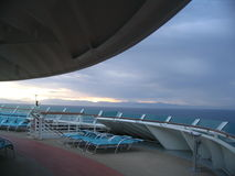 De cruise van de ochtend royalty-vrije stock foto's