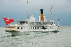 De cruise van de passagier in Pully Stock Fotografie