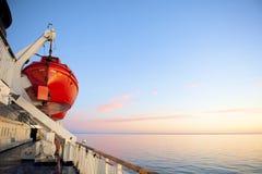 De cruise van de veerboot Stock Foto's