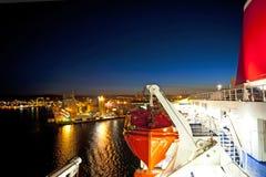 De cruise van de veerboot Royalty-vrije Stock Afbeeldingen
