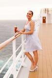 De cruise van de vrouwencocktail Royalty-vrije Stock Foto