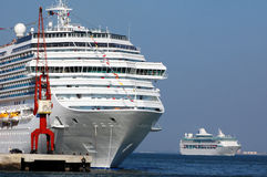 De cruise verscheept 001 Stock Fotografie