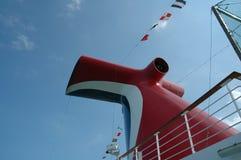 De cruiselijn van Carnaval Stock Foto's