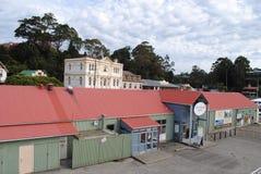 De cruises Strahan, Tasmanige van de Gordonrivier Stock Afbeeldingen