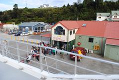 De cruises Strahan, Tasmanige van de Gordonrivier Royalty-vrije Stock Afbeeldingen