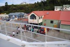 De cruises Strahan, Tasmanige van de Gordonrivier Stock Fotografie