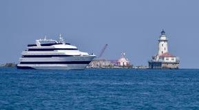 De Cruiseschip van Chicago Royalty-vrije Stock Afbeelding