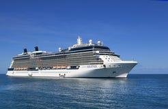 De Cruiseschip van de beroemdheidszonnestilstand stock afbeeldingen