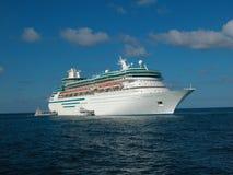 De cruiseschip van de luxe Stock Afbeeldingen