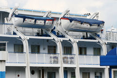De cruiseschip van de passagier Royalty-vrije Stock Foto