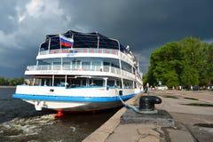 De cruiseschip van de rivier Royalty-vrije Stock Fotografie