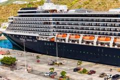 De cruiseschip van Holland Amerika Stock Afbeeldingen
