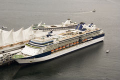 De cruisevoering van de luxe Royalty-vrije Stock Afbeeldingen