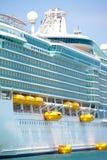 De cruisevoering van de vakantie Royalty-vrije Stock Foto's