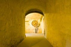 De crypt van de kathedraal Royalty-vrije Stock Afbeelding