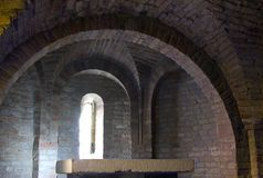 De Crypt van de kerk Stock Foto's