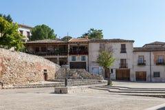 De cuadrado Hita, Guadalajara, España imagen de archivo