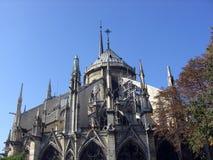 De cultuskathedraal van Notredame cathedral catholic, zetel van het Aartsbisdom van Parijs, de hoofdstad van Frankrijk Royalty-vrije Stock Afbeelding