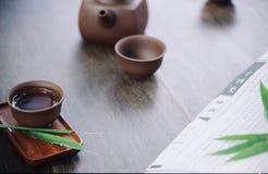 De cultuur van de thee Stock Afbeeldingen