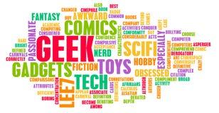 De Cultuur van Geek vector illustratie
