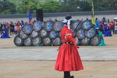 2015 de Cultuurfestival van Zuid-Korea Seoel Yeongam Wangin Stock Afbeelding