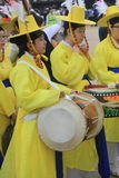 2015 de Cultuurfestival van Zuid-Korea Seoel Yeongam Wangin Royalty-vrije Stock Foto's
