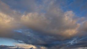 De cumulus betrekt achtergrond Royalty-vrije Stock Afbeelding