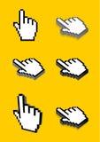De curseur van de hand vector illustratie