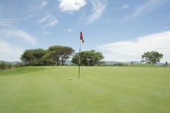 De cursus van het golf Stock Afbeelding