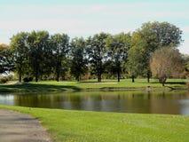 De Cursus van het golf Stock Fotografie