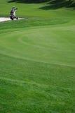 De cursus van het golf Stock Foto