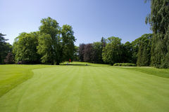 De cursus van het golf Royalty-vrije Stock Afbeelding