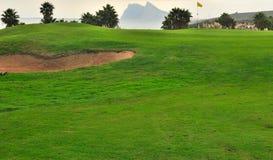 De cursus van het golf in Cadiz Stock Foto