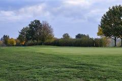 De Cursus van het golf in de Herfst stock foto